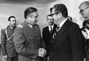 Pinochet Kissinger Reunion